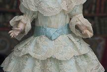 antique doll clothes
