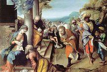 Correggio / Storia dell'Arte Pittura  15°-16° sec. Correggio  (Antonio Allegri)  1489-1534