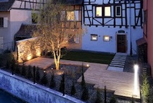 """Colombier Suites - Colmar / A hotel on the edge of the river   In Colmar, the heart of """"Little Venice"""" and on the edge of the river, the Colombier Suites invite you to relax. The building from 18th Century combines tradition and modernity."""