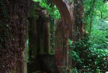 Secret gardens magic ruins