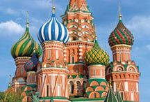 Russian Architecture / A great starting point for inspiration for fashion design and architectural detail.