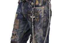 Punk gothic rock fashion