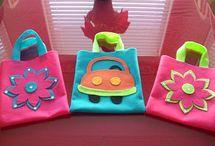 felt gift  bags