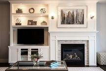Fireplace TV Wall