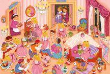prinsessen en ridders