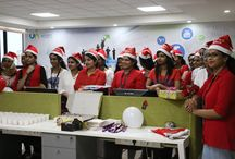 X'mas Celebration 2016 / The bells are ringing everywhere and Santa's on his way... Tis the season! Wishing you all a wonderful Christmas filled with memories you'll always treasure. #MerryChristmas #FunAtWorkPlace #FriendsAndColleauges #VinamFamily