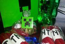 Mindcraft/Lego part Alex 10 birthday