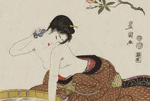 shunga bathing