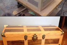 Kufry z drewna