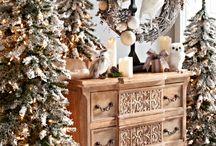 Decoración navideña HP