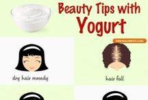 Secretos para mantenerse bella con yogur