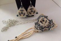Leončiny šperky / Korálkové tvoření
