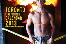 Toronto Fire Fighter Calendar / The 12-month wall calendar features spectacular photos of real Toronto firefighters who dedicate their lives to protecting our communities and responding to emergencies.   Every purchase and donation made to towards this calendar will benefit the Fire Fighters' Cancer Research Fund at The Princess Margaret, one of the top 5 cancer research centres in the world.