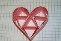Hershey's Kisses Fun Folds / Fun projects created featuring the Hershey's Kisses fun folds.  Carol Lovenstein www.pinkstampagne.com