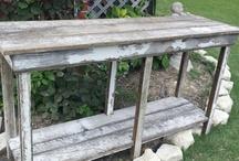 Custom built furniture by Dumpster Diva