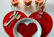 decoracion de mesa para dos san valentin