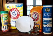Homemade cleaning supplies / by Jen Reichenbach