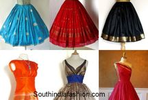 Saree Dresses 2