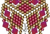 korálky - vzory