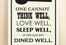 dined well quotable