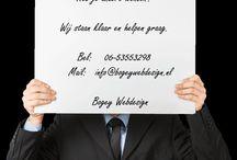 Webdesign / Bogey Webdesign  Een eigen bedrijf gestart en nog geen website? Wil je een bestaande website upgraden? Heb je andere wensen? Wij staan klaar en helpen graag. Bel: 06-53553298 Mail: info@bogeywebdesign.nl