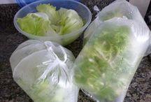 Como conservar verduras