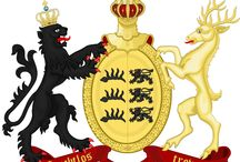 Almanach de Saxe Gotha - Kingdom of Württemberg - Württemberg Dynasty / The Kingdom of Württemberg (German: Königreich Württemberg) was a Germanic kingdom that existed from 1806 to 1871, when it became a state of the newly formed German Empire (though it continued to be nominally ruled, within the new nation, as a kingdom until 1918).  Almanach de Saxe Gotha Page: http://www.almanachdegotha.org/id41.html