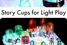 Story cups light play