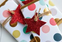 Gift wrapping ideas / Gift wrapping ideas, gift packaging.