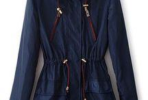 Dark coat