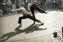 Arte e Ginga Capoeira / Capoeira inspired