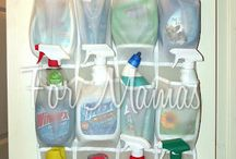 the simple life, cleaning supplies