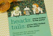 Football Party / All things football for the ultimate kids party or Super Bowl party, too.