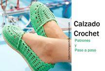 Zapatos de ganchillo