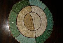 muestras esmaltes ceramica