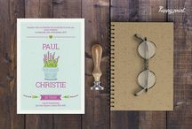 wed_invi_5 / Create your own custom wedding invitation with this elegant template featuring. All you have to do, is change the existing text in Greek or in English with your own details!