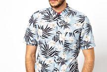 Printli gömlek