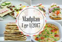 Madplaner LCHF 2017