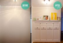 Ideas for the Entryway / by Jessica Powell