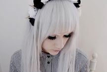 Magpie <3s Accessories / Accessories that I am inspired to make or try to buy  https://themadmagpieblog.wordpress.com/ #gothic #lolita #alternative #'creepycute #emo #pastelgoth