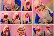 Hijab Tutorial / Kumpulan tutorial hijab