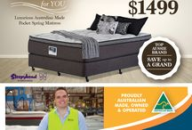 MAY 2016 / COMFORT FOR YOU! Luxurious Australian Made Pocket Spring Mattress. Queen Size Mattress in any Feel $1,499 (selected Stores throughout May!