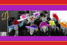Fancy Derby Hats / Fancy and fanciful derby hats for Louisville. The bigger the better!