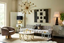 Posh + Luxe / Reserve your spot on the A-list with runway-worthy details, luxe textures, and gilded accents. / by AllModern