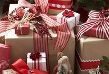 Christmas wrapping / by Angie Morerod