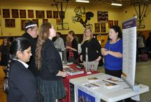 Catholic College Tour Visits SJN High School / Representatives from 25+ Catholic colleges and universities visited with our SJN HS students.  We are proud that 97% of our High School graduates pursue a college degree.
