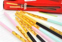 My stuff / Alt slaks ting jeg elsker som kopper, blyanter, penner, stickers..