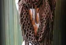 Crochet-Scarves & Gloves / by Ginia Steward