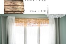 Window Dressing / All about windows. Curtains, drapes, shutters, etc!