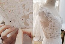 Making Wedding Dress